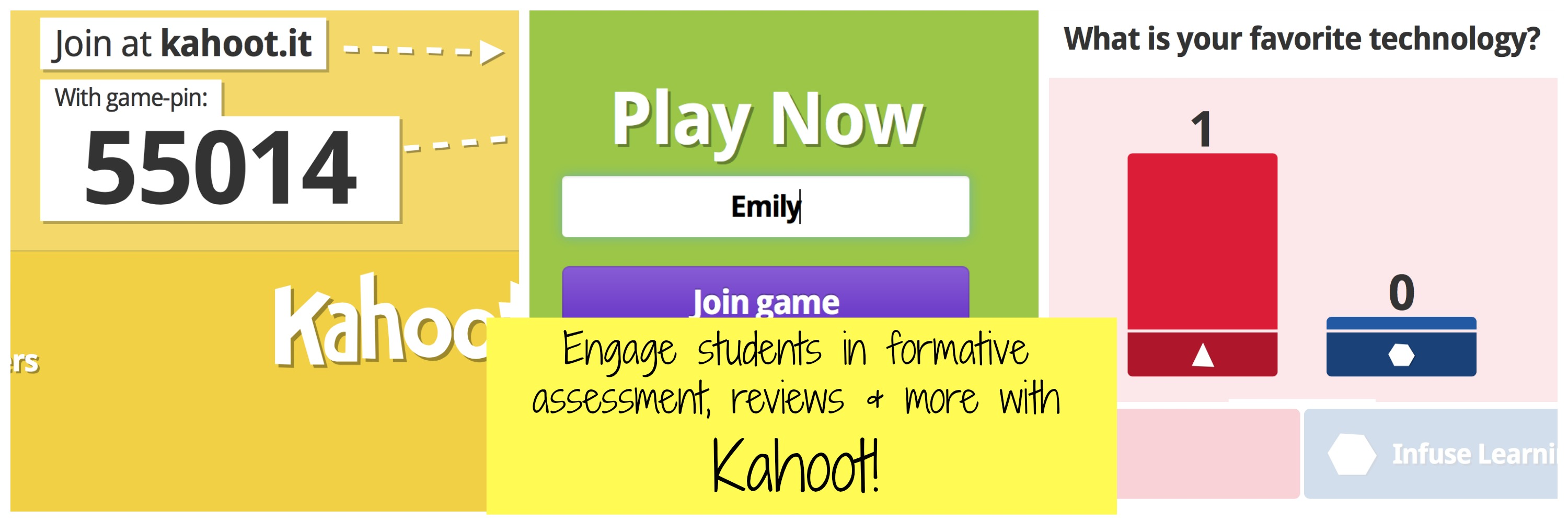 Kahoot: Create Online Discussions, Surveys, and Quizzes for